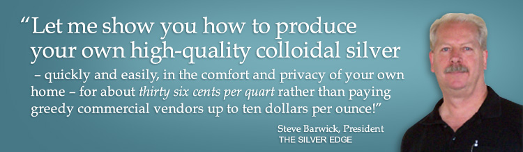 produce your own high-quality colloidal silver